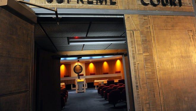The Montana Supreme Court chambers