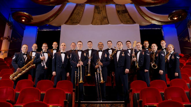 The United States Air Force Band of the Golden West presents its jazz ensemble, The Commanders, at the Mesa Arts Center. The 17-member group will perform a variety of genres from swing to traditional to patriotic during the two-hour show.