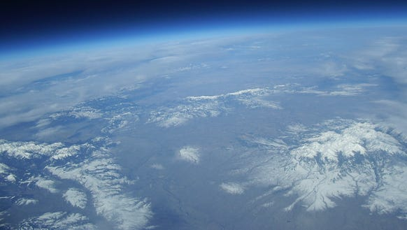 The view from 100,000 feet, part of NASA's Eclipse