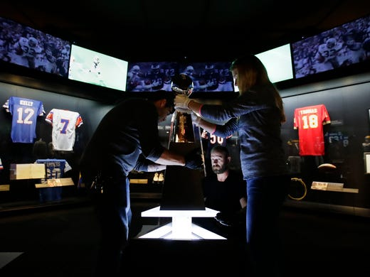 5df2e4876 Pro Football Hall of Fame  10 cool things at Appleton s History Museum