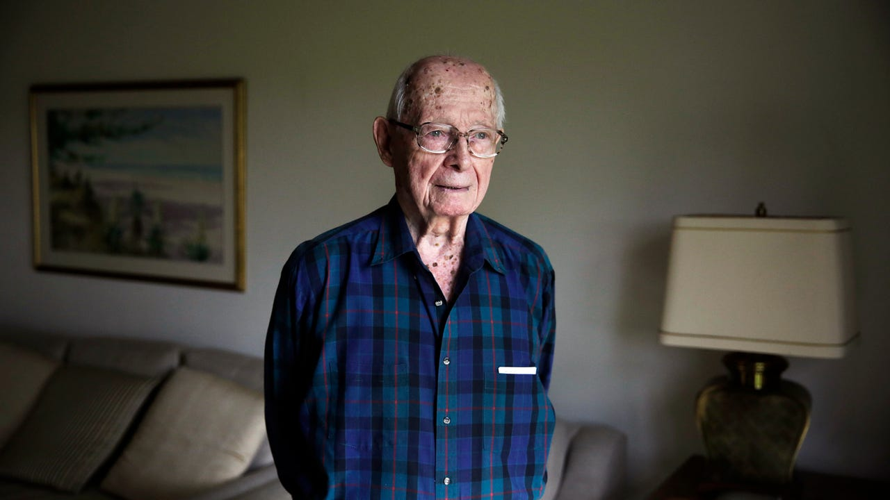 Frank Pagano, 90, recalls his time serving in WW2