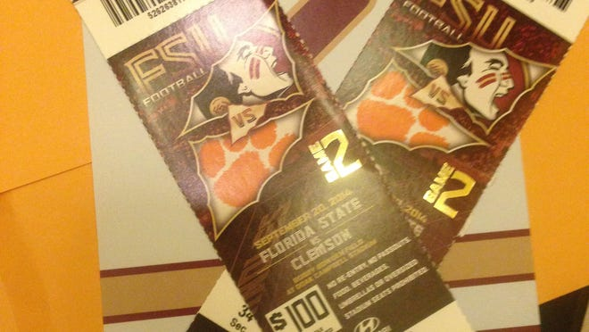 Help me pick who will get one of these tickets to go to the game on Saturday with me
