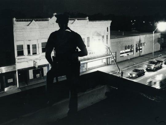 Allen Williams, then a patrolman for the Bucyrus Police