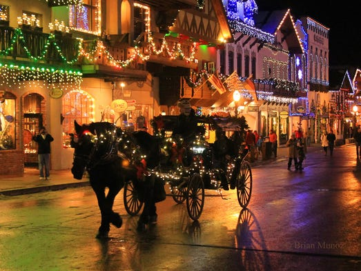 10 best hotels that go all out for the holidays for Best place to travel for christmas in usa