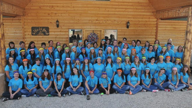 Fifty-four young women attended this year's Camp Ruth, held by The Mesquite Nevada Stake of the Church of Jesus Christ of Latter-day Saints.