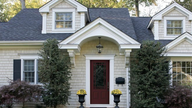 Your front door is one of the first things people notice about your home. If you give your door a fresh face with a coat of paint it will make a huge difference.