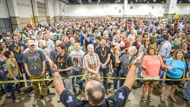 The Great American Beer Festival had over 60,000 attendees this year – a new record.