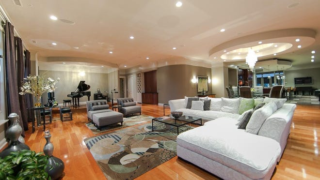 Cherry hardwood floors can be found throughout the main living area and bedrooms.