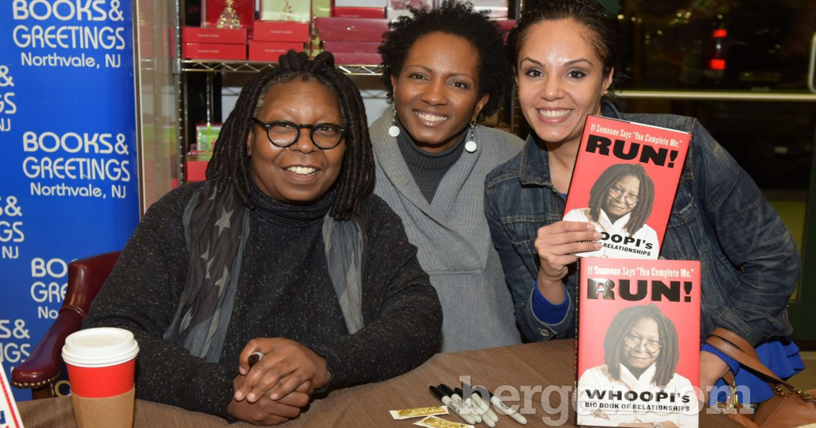 Whoopi Goldberg Meets Fans For Signing Event At Books And Greetings