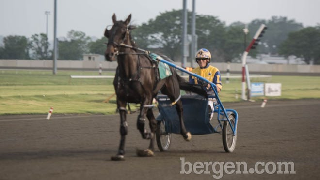 Harness Racing at the Meadowlands Racetrack (Photo by Jeremy Smith)