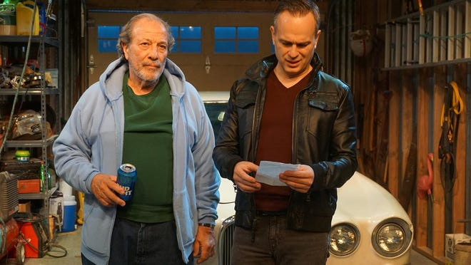 "Dan Grimaldi (left) and Christopher Daftsios co-star in ""The Jag"" by Gino DiIorio."