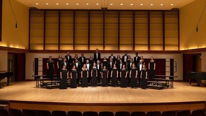 University Singers Fall 2018 .