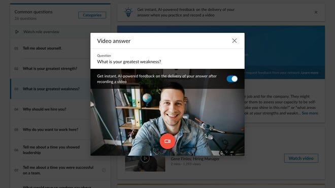 LinkedIn video tools for job seekers
