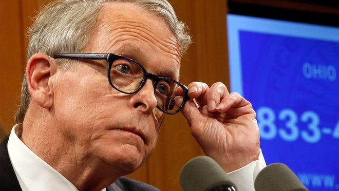 Gov. Mike DeWine hopes to have Ohio take up President Donald Trump's offer to states for additional federal jobless benefits, but legal questions remain.