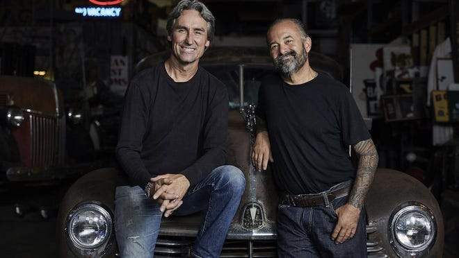"""Mike Wolfe, left, and Frank Fritz of """"American Pickers"""""""