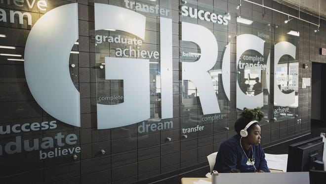 Grand Rapids Community College is waiving fees for online classes for the 2020-2021 academic year.