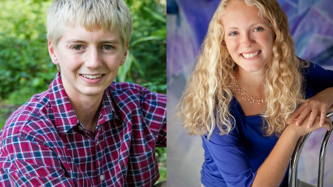 Jace Galley and Meggie DiPoto of Neenah High School are this week's top scholars.
