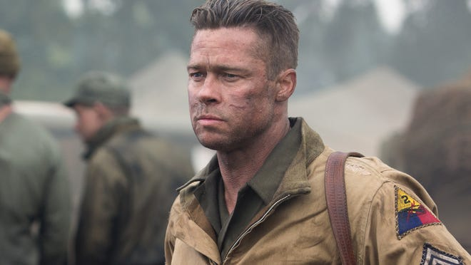 An excellent cast, including Brad Pitt, is wasted on the clumsy 'Fury.'