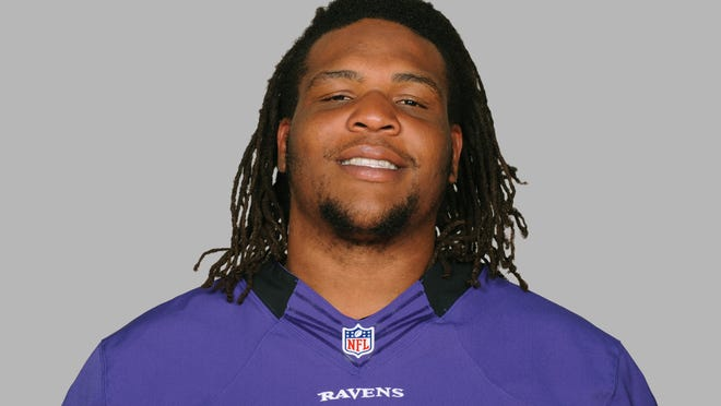This is a photo of Terrence Cody of the Baltimore Ravens NFL football team. This image reflects the Baltimore Ravens active roster as of Wednesday, June 25, 2014. (AP Photo)