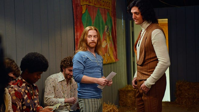 """Seth Green and Blake Rayne in a scene from the """"The Identical."""""""