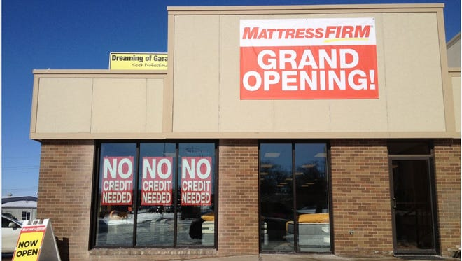 Mattress Firm has several Sioux Falls locations.