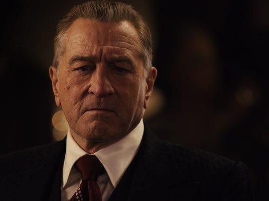 Robert De Niro in a scene from Netflix original movie The Irishman .
