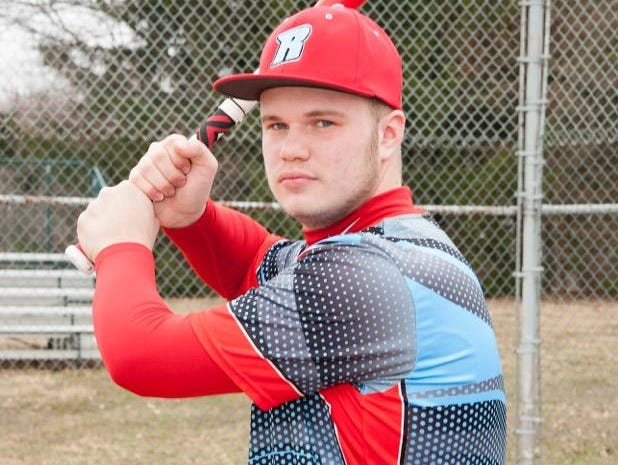 Ridgedale senior Jacob Cannon is the Fahey Bank Male Athlete of the Month for May.