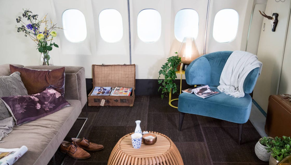 Klm md 11 listed as 39 spacious airline apartment 39 on airbnb for Airbnb apartments