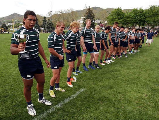 The Snow Canyon high school rugby team won the Utah