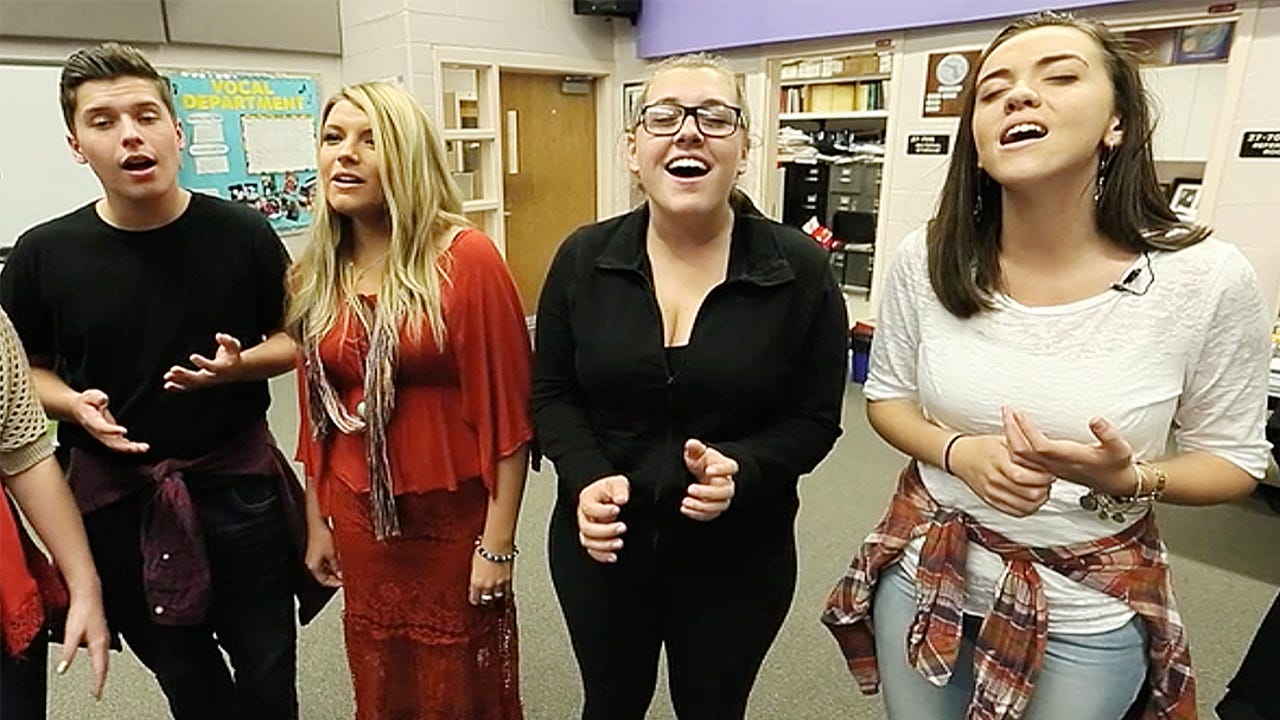 The A Cappella Group from Cypress Lake High School will perform in concert on April 16 at the Cypress Lake High School Center for the Arts. TAG is raising money for their upcoming trip to New York. Learn more at www.cypresslakevocal.com