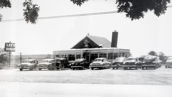 A photo from the 1950's at Lee's Diner in West Manchester Township.