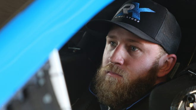 Jeffrey Earnhardt, grandson of the late Dale Earnhardt, will drive the #00 VRX Simulators Chevrolet in this weekend's Daytona 500.