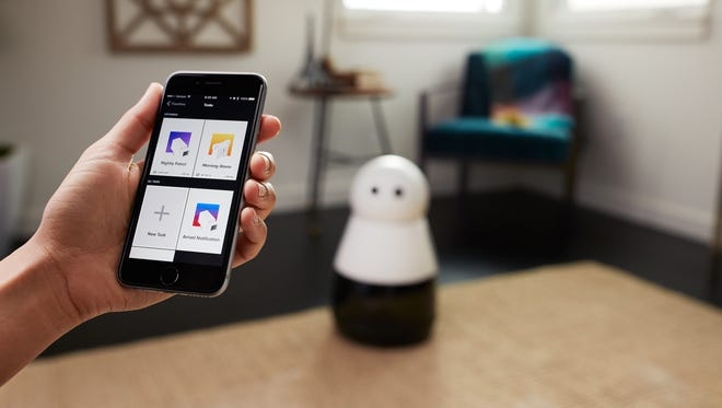 Kuri can connect to your smartphone and monitor your home while you're gone.