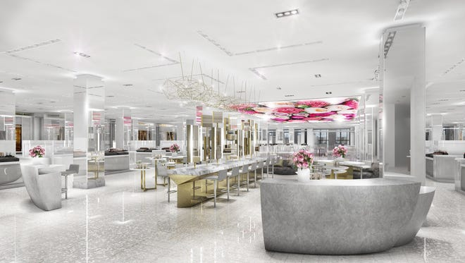 Saks has dedicated its second floor to beauty, debuting new brands, and a host of unique experiences.