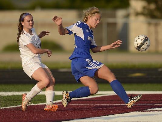 GPG Girls soccer Southwest vs De Pere