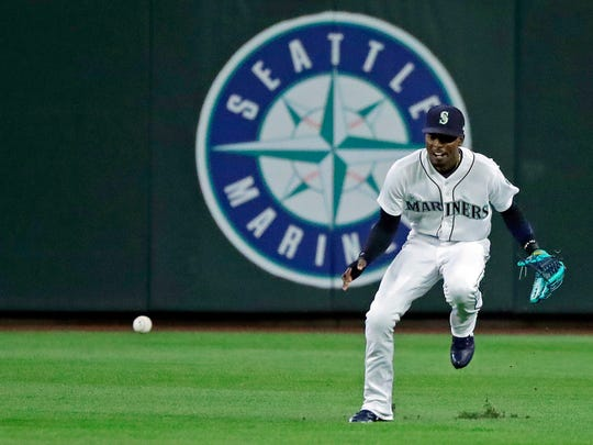 Dee Gordon has adjusted to playing centerfield after previously playing second base.