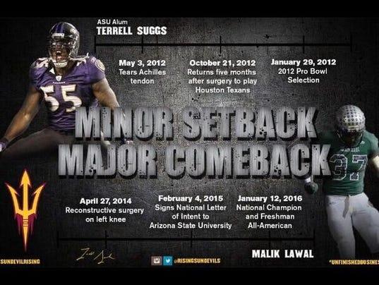 Terrell Suggs recruiting