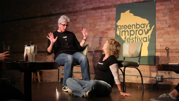 The Green Room Lounge, home to the ComedyCity improv
