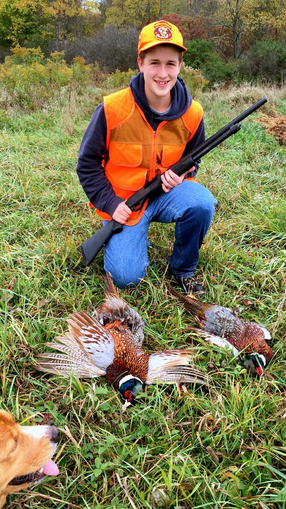 A great start to what will hopefully be a long hunting career.