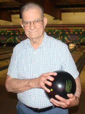Livonia bowler Bill McCann, 89, is still finding the pocket with regularity.