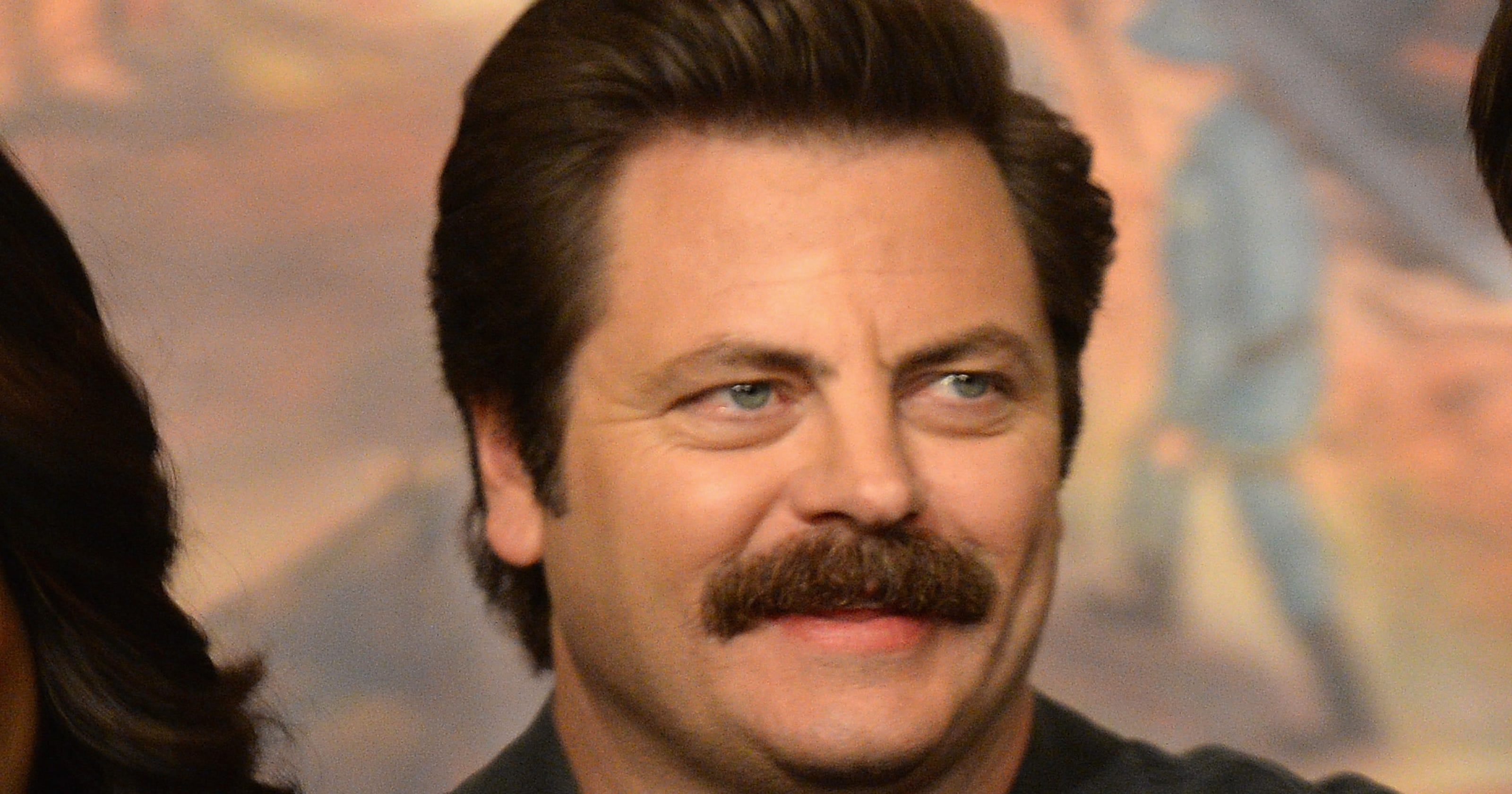 Offerman Not Ron Swanson To Stop At Bu