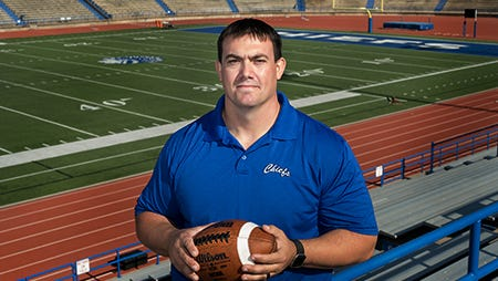 Lake View High School's Ben Lyons was named defensive coordinator for the football team. He has been with Lake View since 2006 and was a three-year starter at defensive line for the Chiefs.