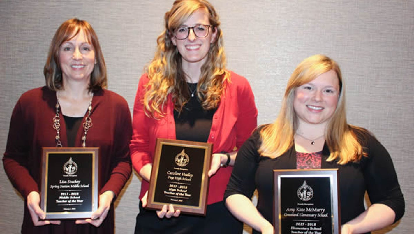 These are Williamson Schools' teachers of the year