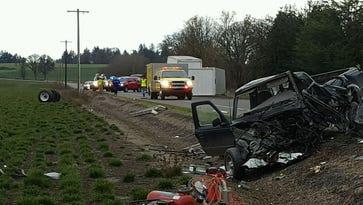 Salem man dies in crash on Highway 99W