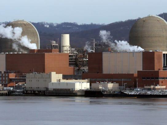 The Indian Point Energy Center nuclear power plantin