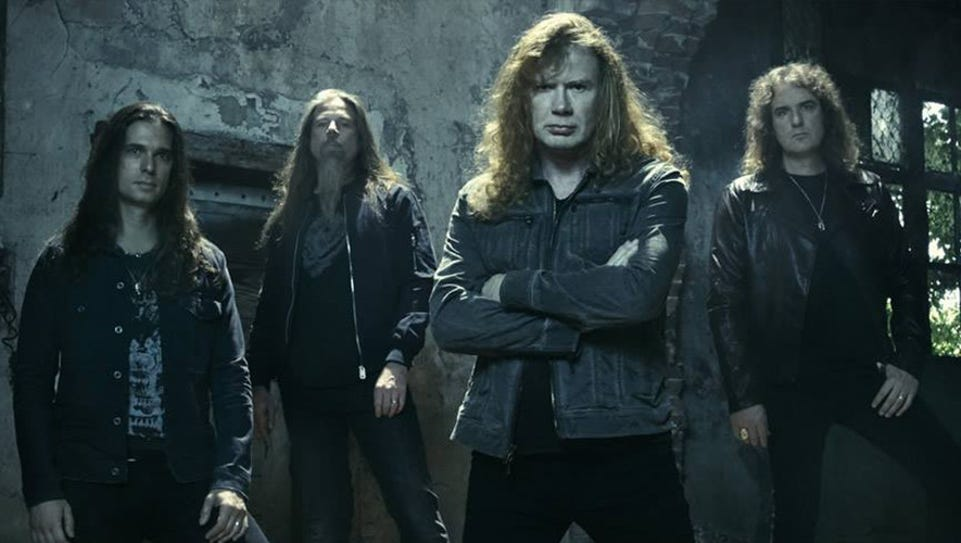 Metal superstars Megadeth are playing tonight at Badlands