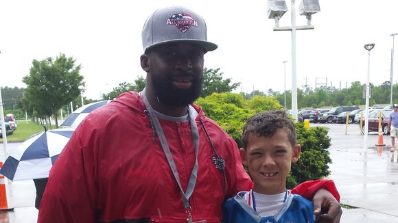 Asheville's Noah Shaw was part of the May 30 Diamond Sports Group's Youth All-American Bowl in Virginia Beach, Va.
