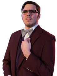 Professor Plum, 'Clue the Musical' at the Harbor Playhouse.