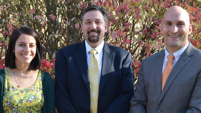 Photo from Left to Right: RosaLeigh Johnson, Kenneth Gutman and Patrick Cavanaugh.