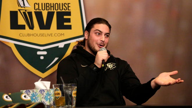 Green Bay Packers left tackle David Bakhtiari co-hosted Monday's Clubhouse Live, USA TODAY NETWORK-Wisconsin's live weekly football show. Watch the replay at clubhouselive.com.